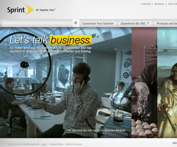 Sprint Small Business Site