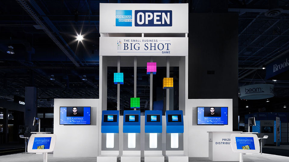 American Express OPEN – Tower And Touchscreen Game